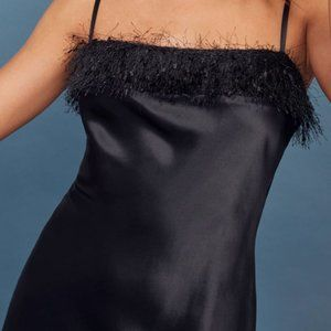 Reformation Silk Slip Dress